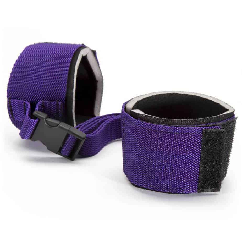 Purple Reins Beginners Wrist or Ankle Cuffs Cheap Sex Toys