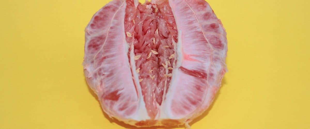 grapefruit-on-yellow-background