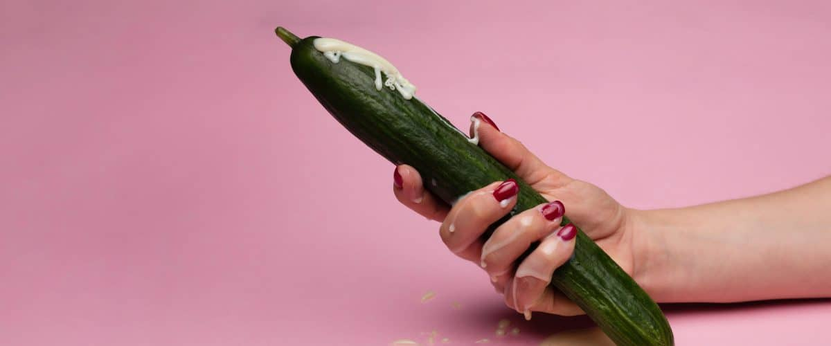 cucumber-on-pink-background-with-white-details